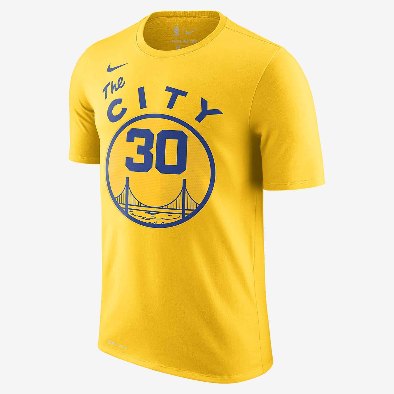金州勇士队 (Stephen Curry) Nike Dri-FIT NBA 男子T恤