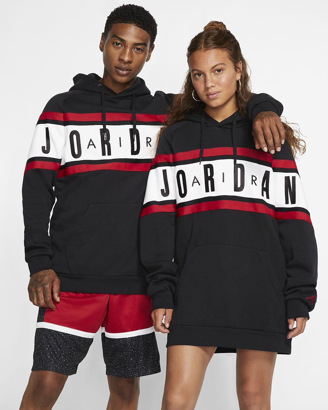 Jordan Air Men's Fleece Pullover Hoodie