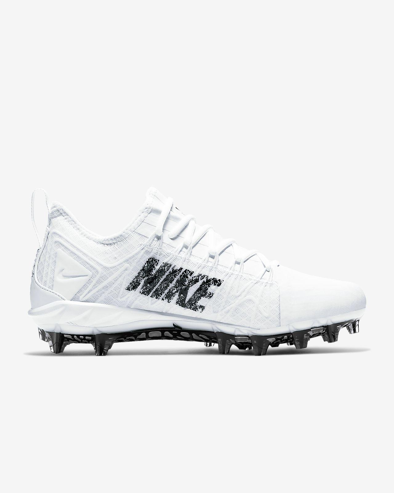 nike huarache cleats white