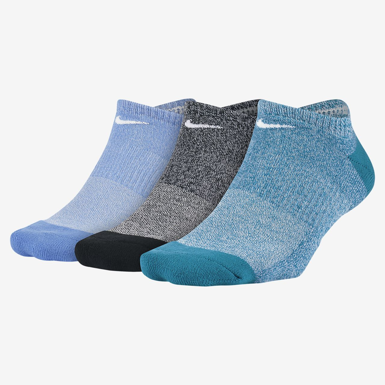 Nike Everyday Cushioned No-Show Socks (3 Pair)