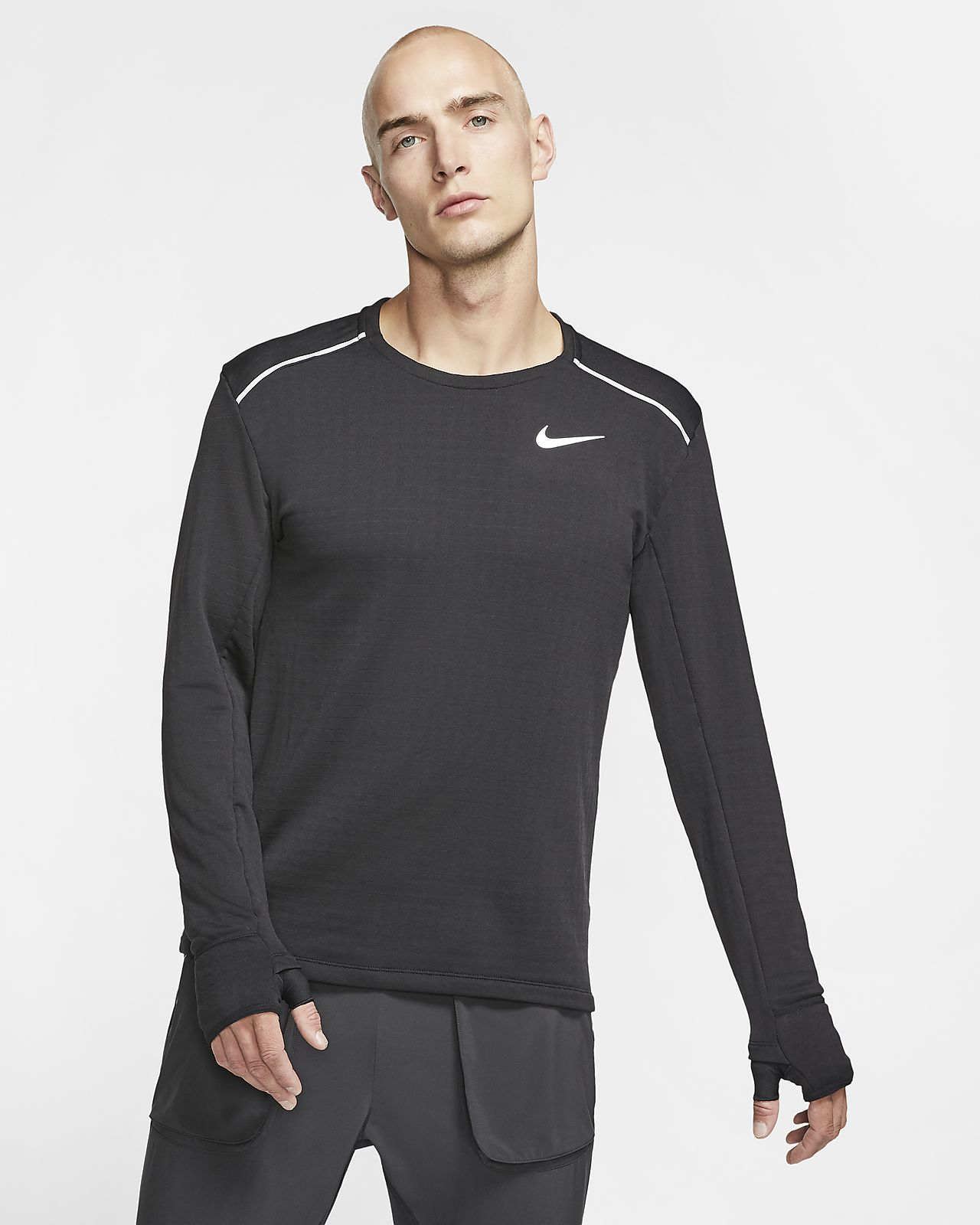 Colibrí plátano firma  Nike Therma Sphere Element 3.0 Men's Long-Sleeved Running Top ...