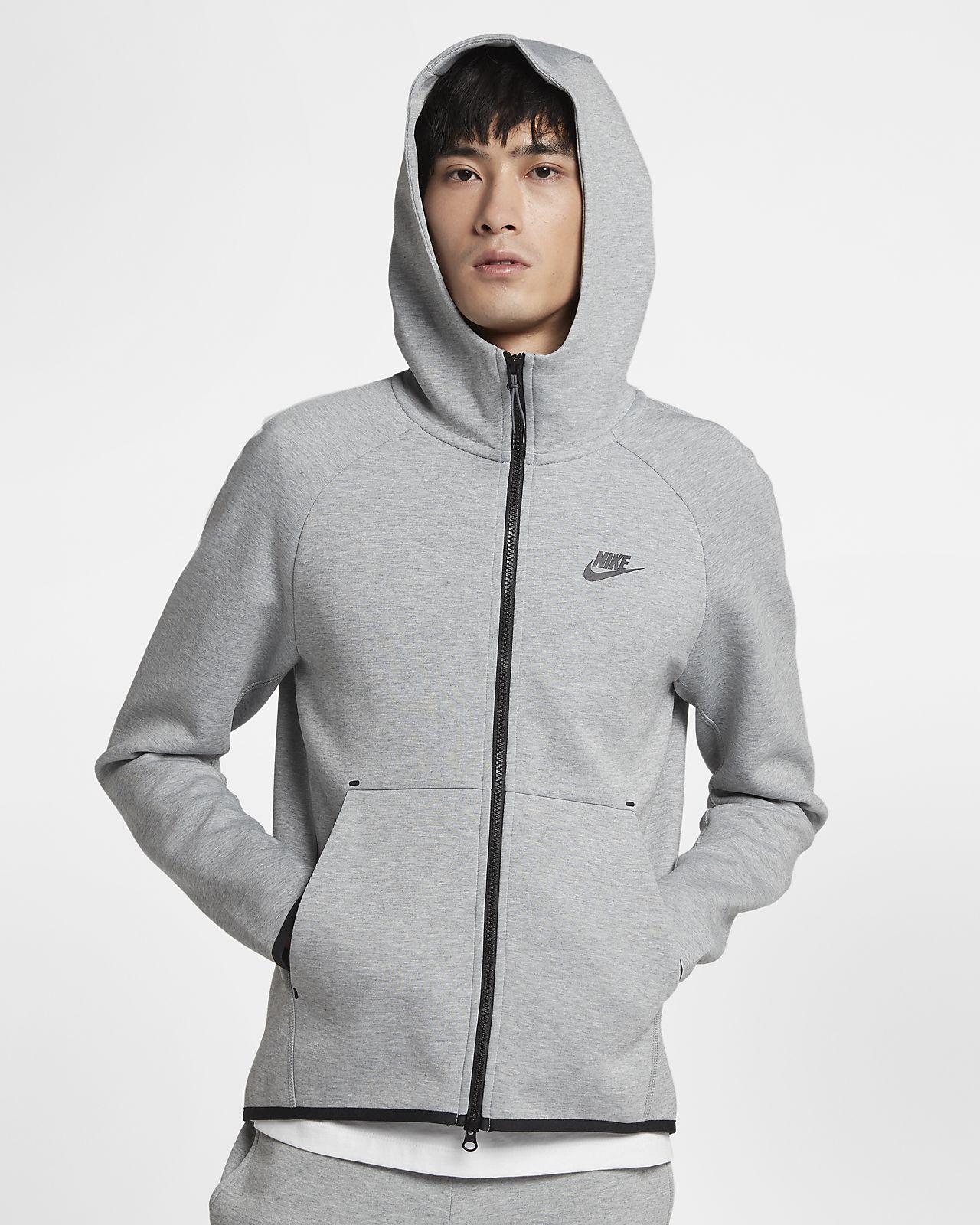Мужская худи с молнией во всю длину Nike Sportswear Tech Fleece