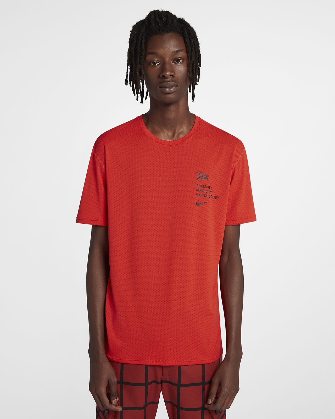 Top de manga corta para hombre Nike x Patta