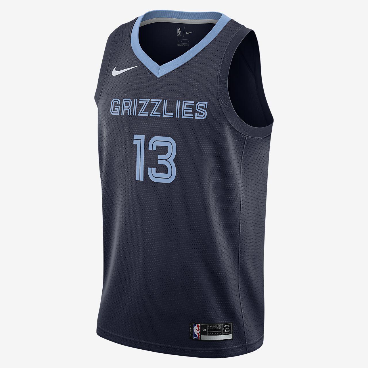 grizzlies jersey
