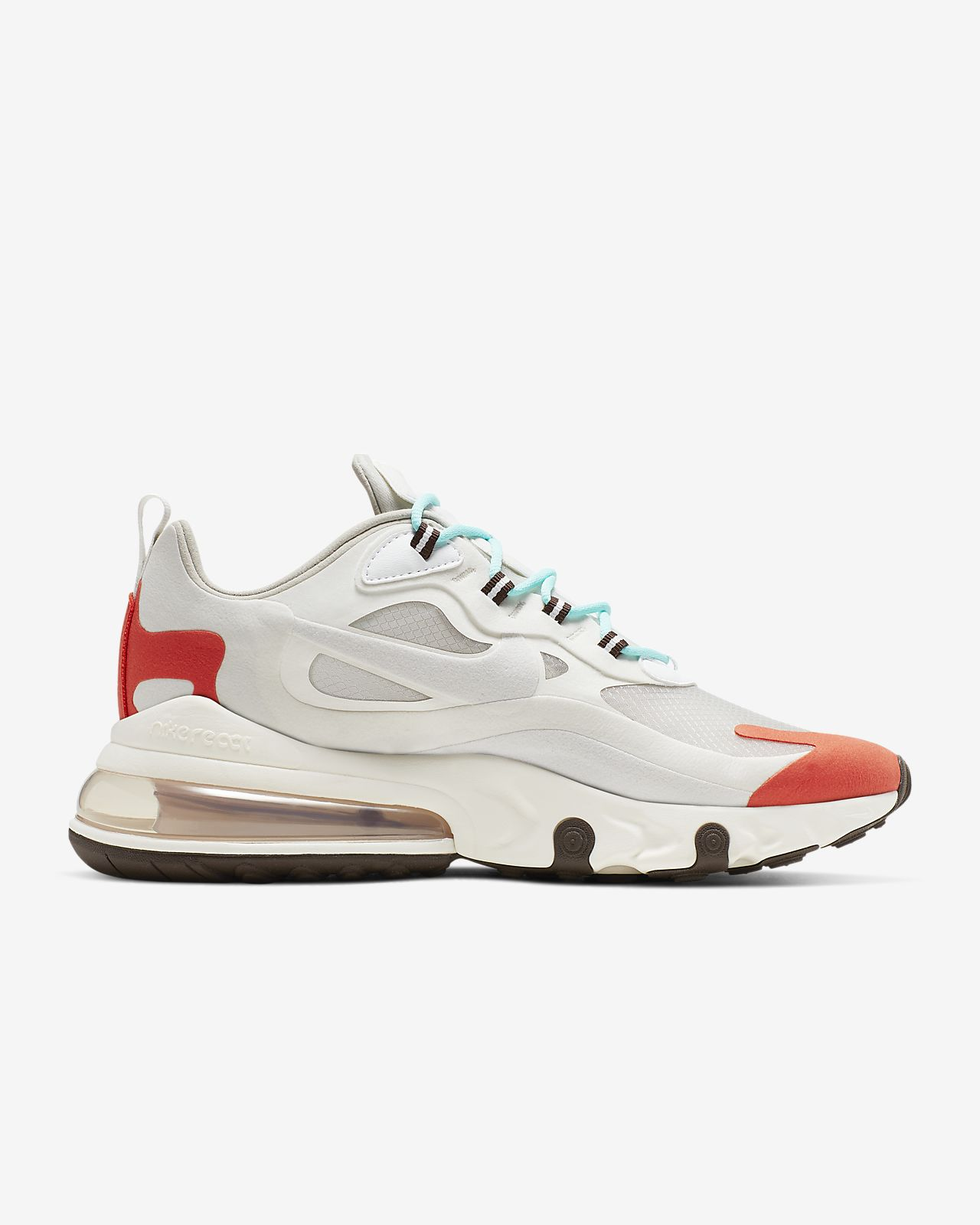 air max 270 react grey orange