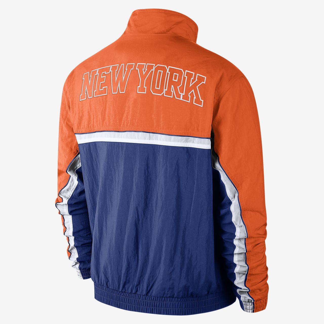 Arenoso Hula hoop Dar permiso  New York Knicks Nike Men's NBA Tracksuit Jacket. Nike.com