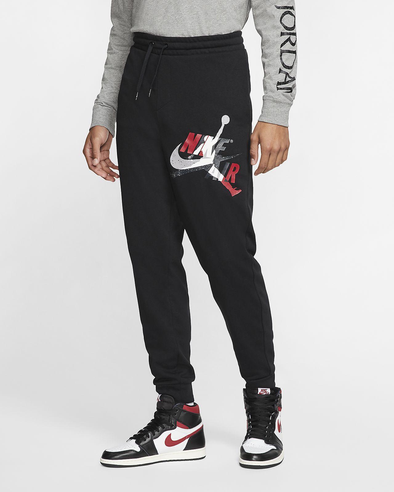 Pánské lehké flísové kalhoty Jordan Jumpman Classics