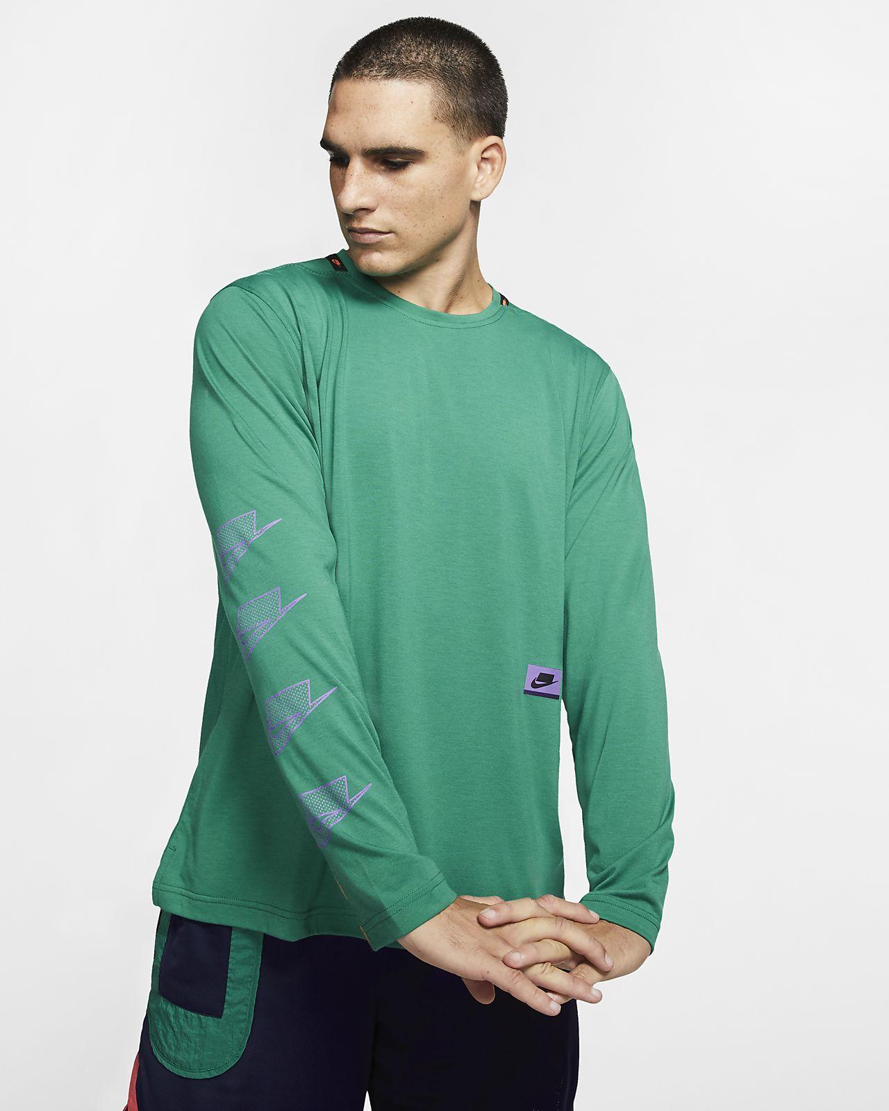 Ανδρική μακρυμάνικη μπλούζα προπόνησης Nike Dri-FIT