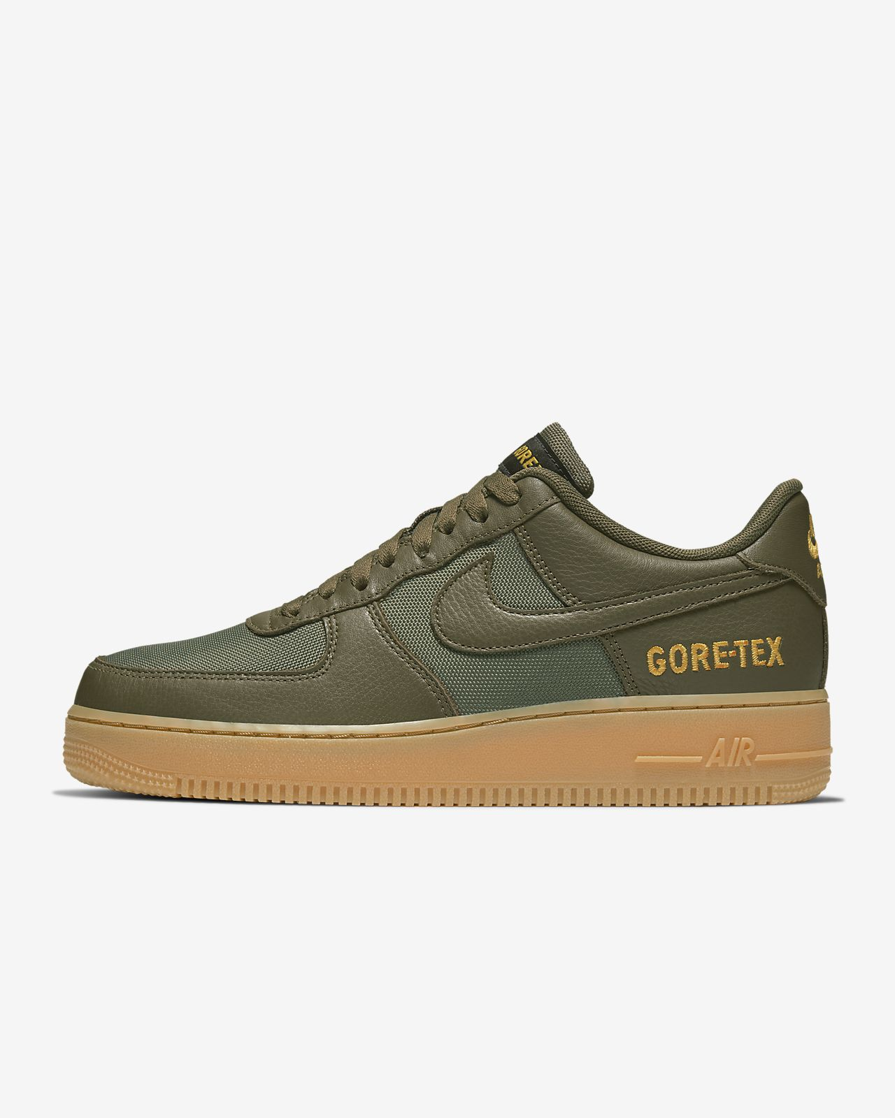 Nike Air Force 1 07 Suede Trainers Khaki in 2020 | Air