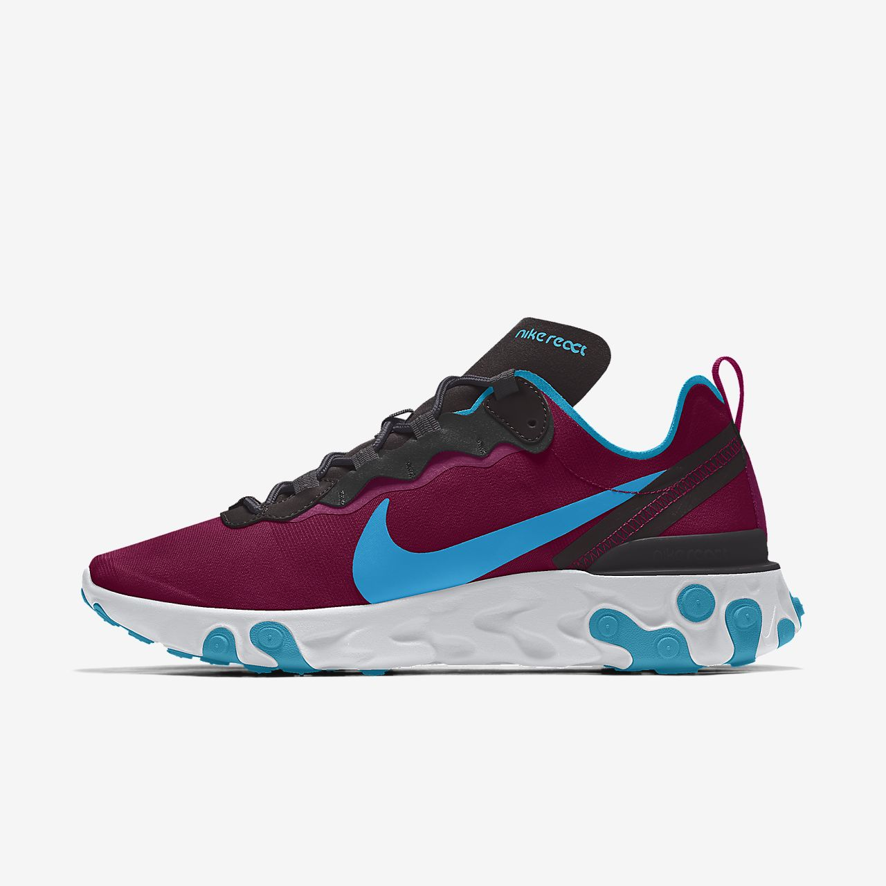 Calzado Lifestyle para mujer personalizado Nike React Element 55 By You
