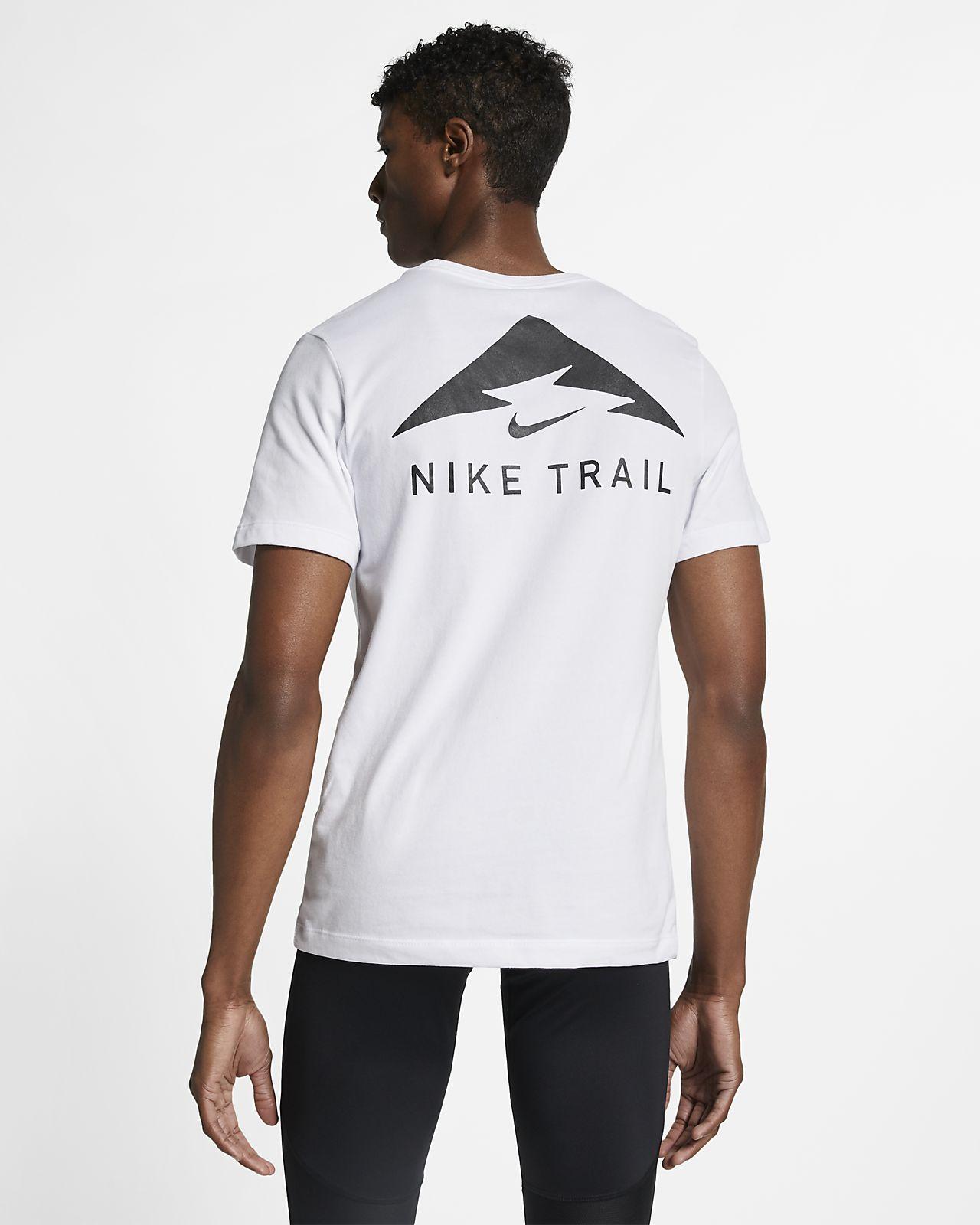 Nike Trail Dri FIT løbe T shirt til mænd
