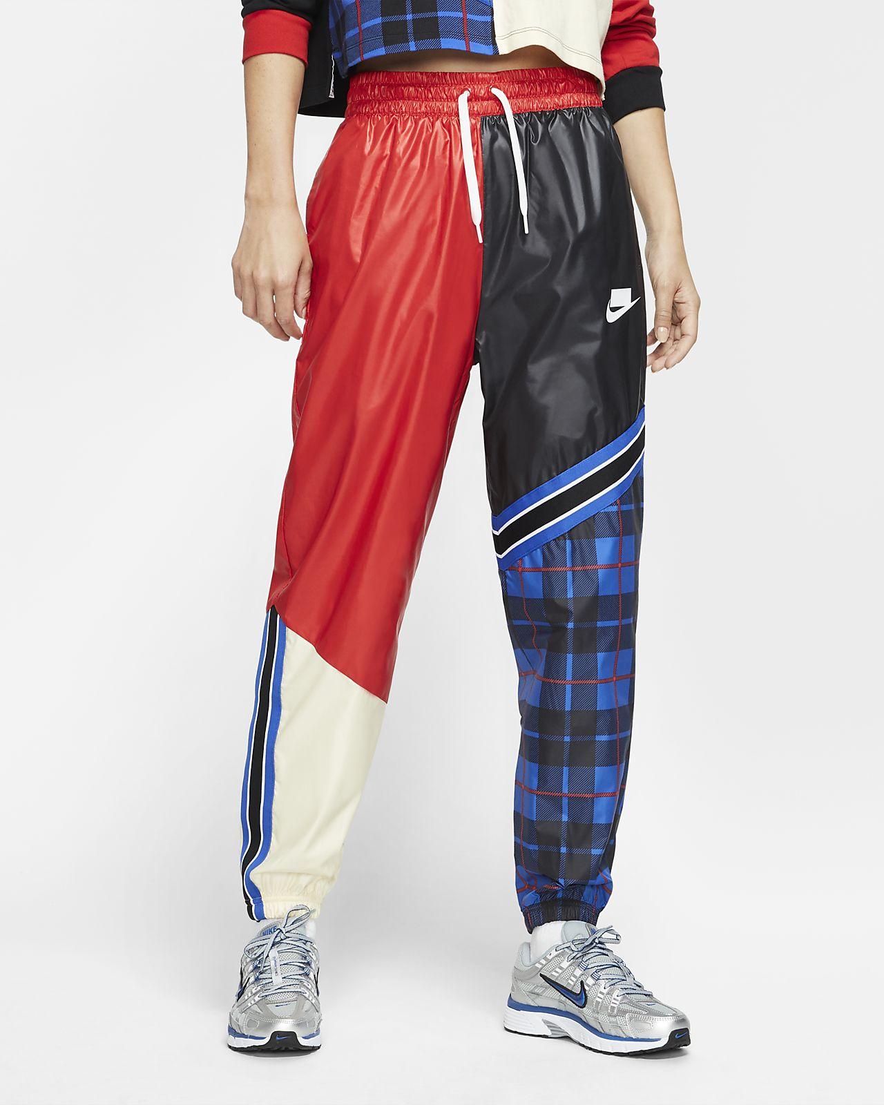 Nike Sportswear NSW Geweven damesbroek met ruiten