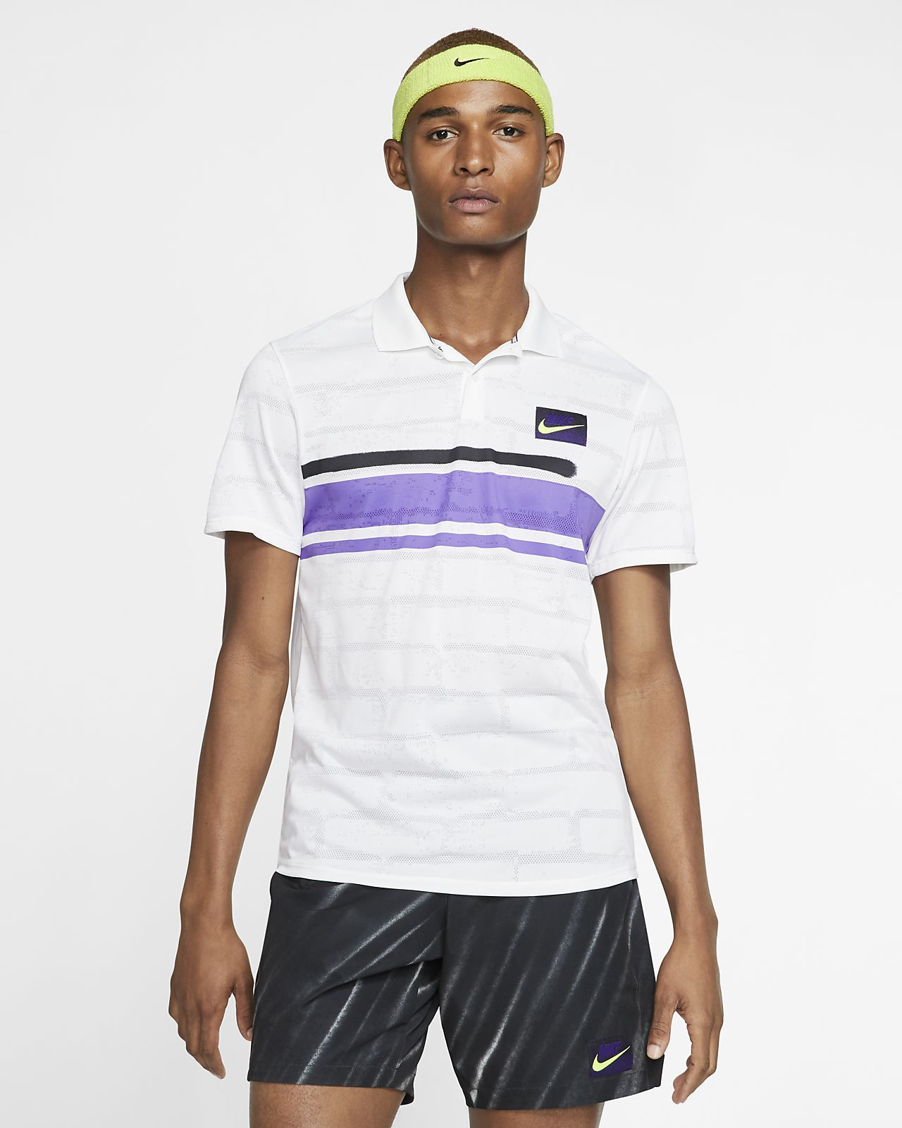 NikeCourt Advantage 男子网球翻领T恤