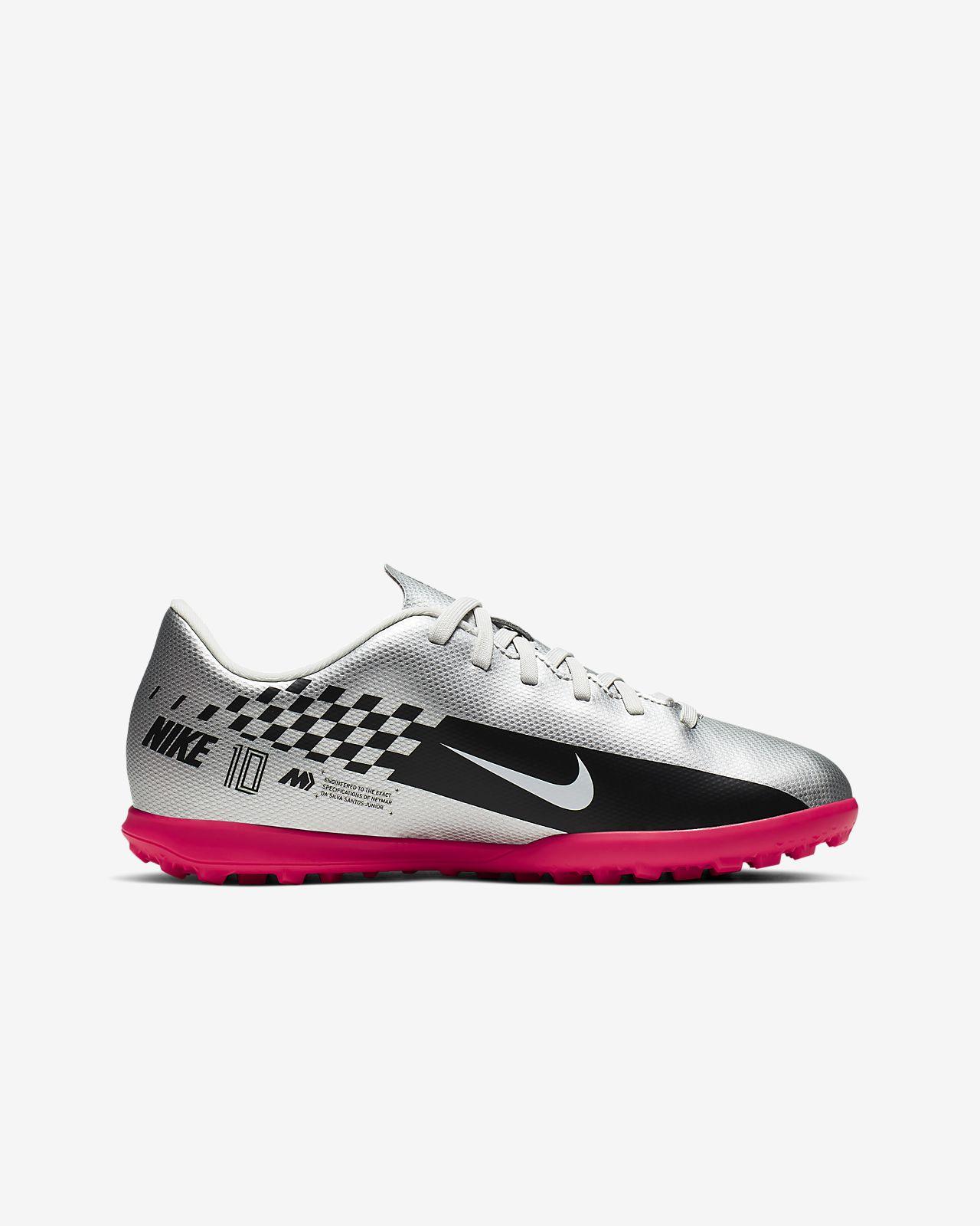 Coincidencia Carteles sonido  Nike Jr. Mercurial Vapor 13 Club Neymar Jr. TF Kids' Artificial ...