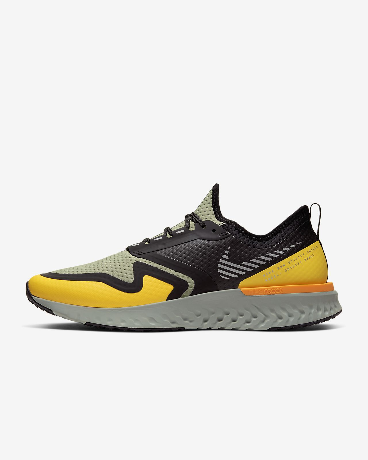 Nike Odyssey React 2 Shield 男子跑步鞋