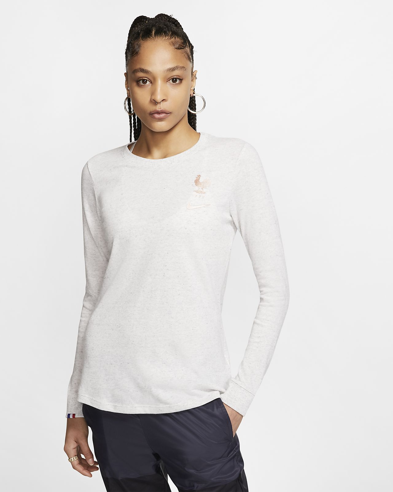 FFF Women's Long-Sleeve Football T-Shirt
