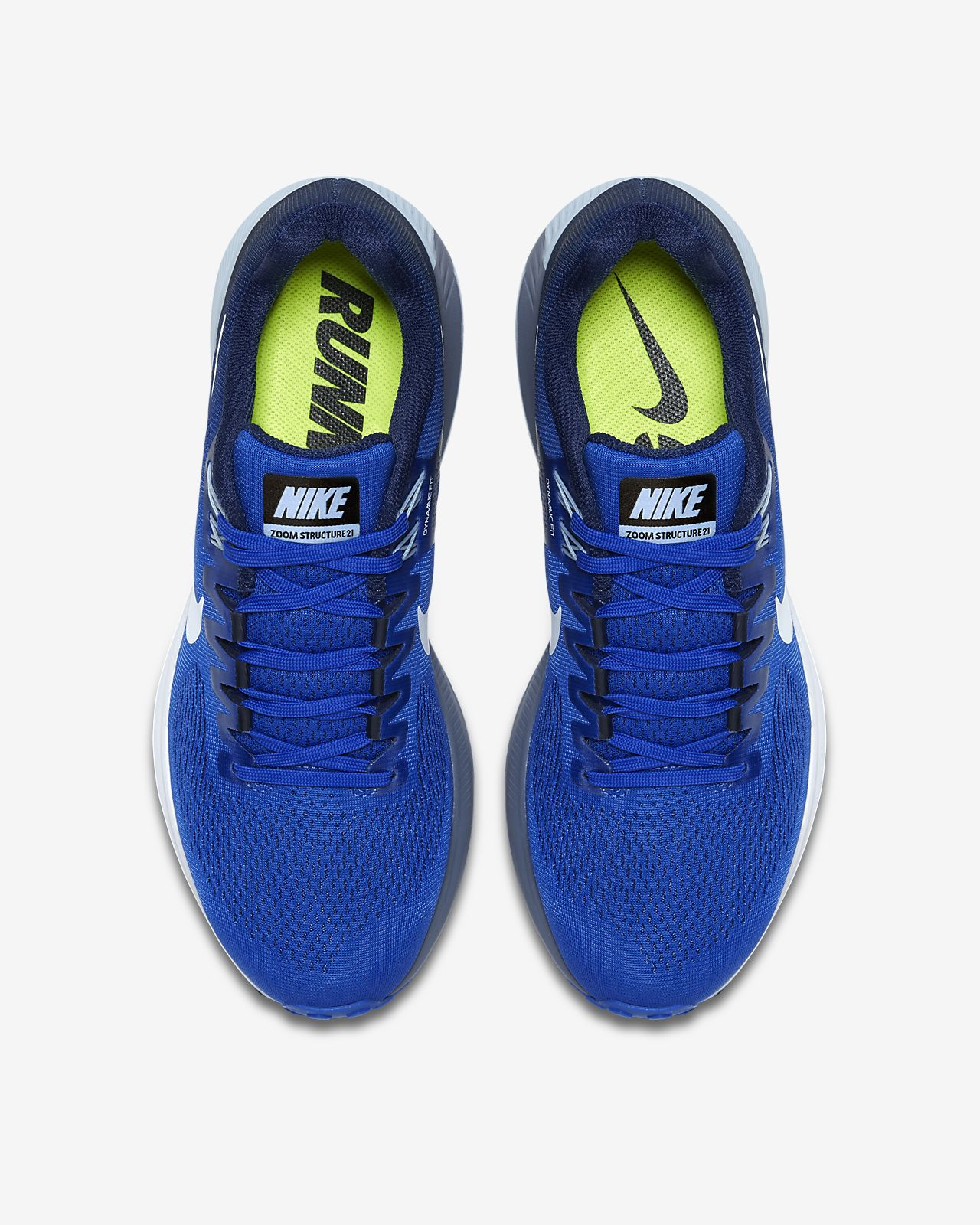 Nike Air Zoom Structure 21 cool greyanthracitevoltwhite a