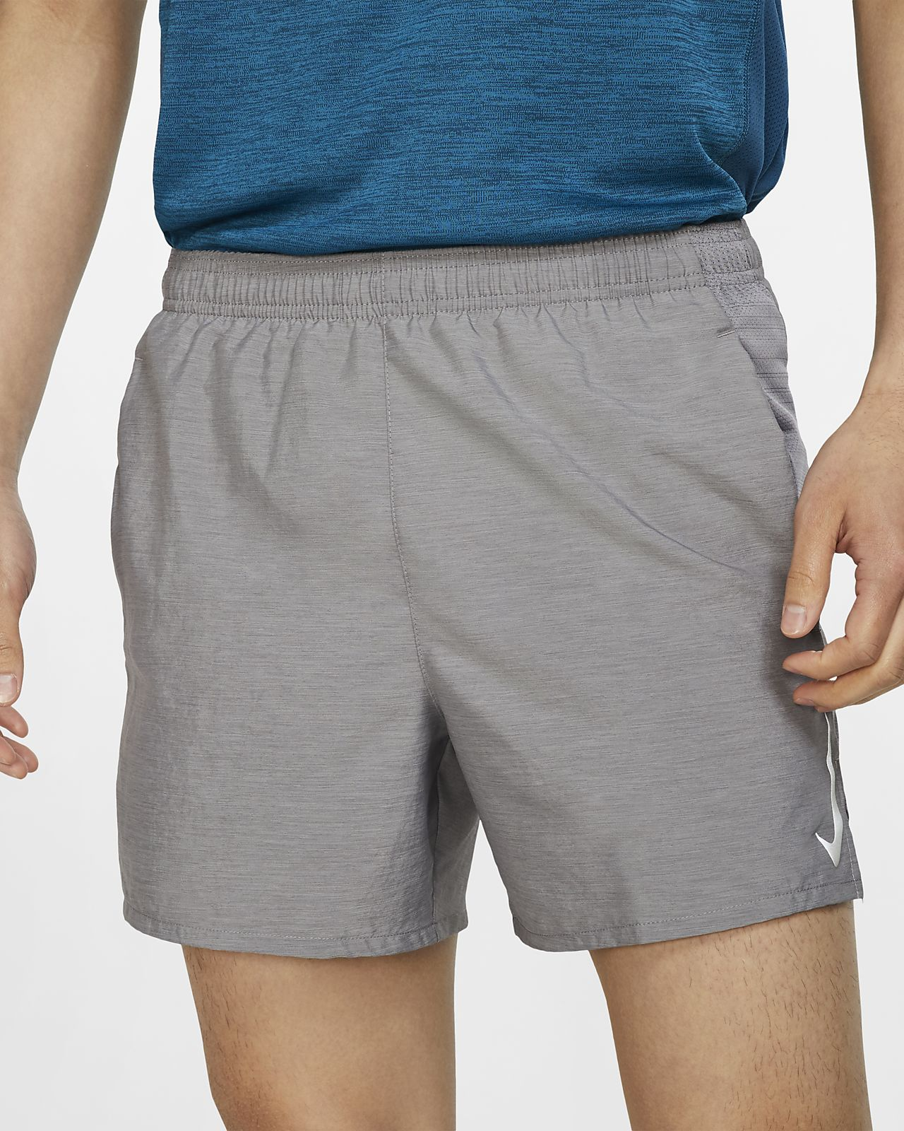 "Nike Challenger Men's 5"" Brief-Lined Running Shorts"