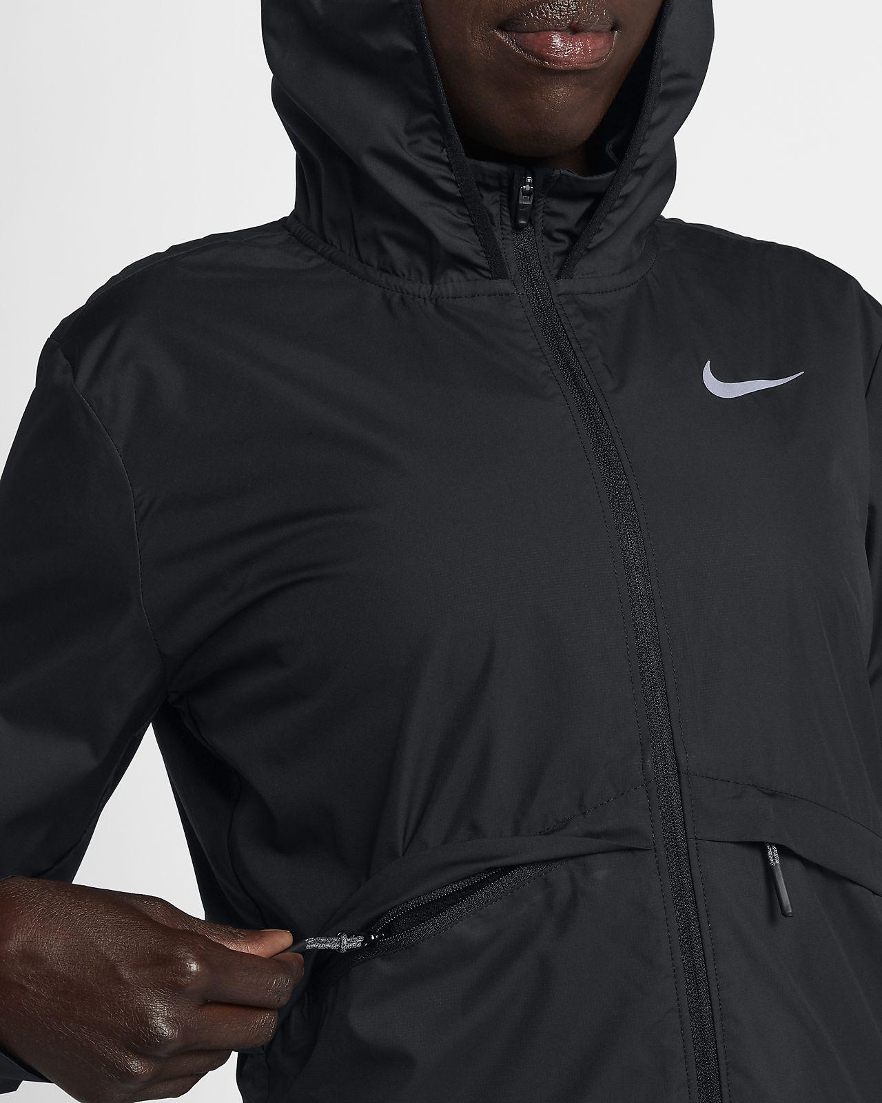 Casaco de running impermeável e dobrável Nike Essential para mulher