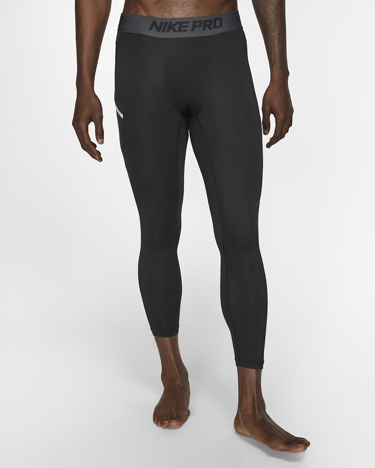 Baskettights i 3/4-längd Nike Pro för män