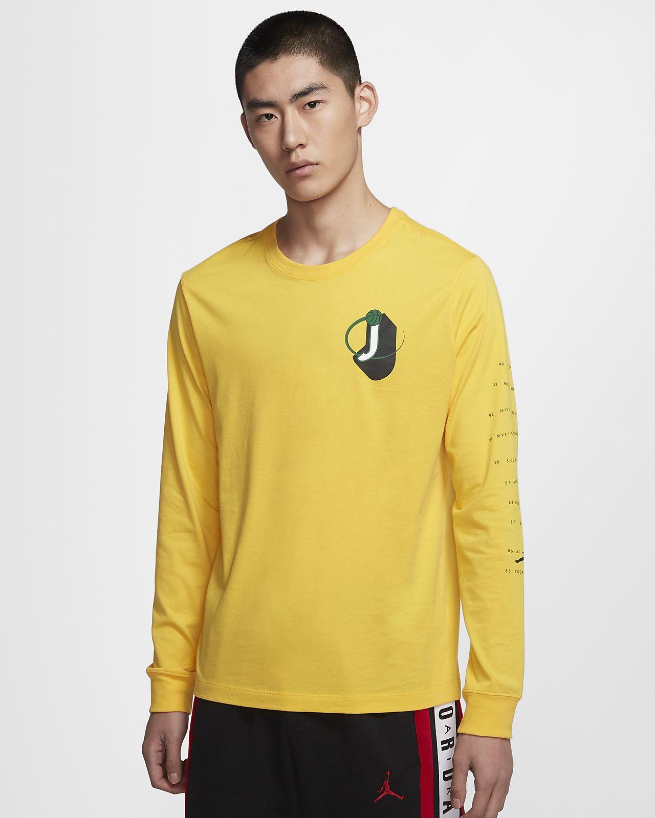Jordan Legacy AJ10 男子长袖T恤