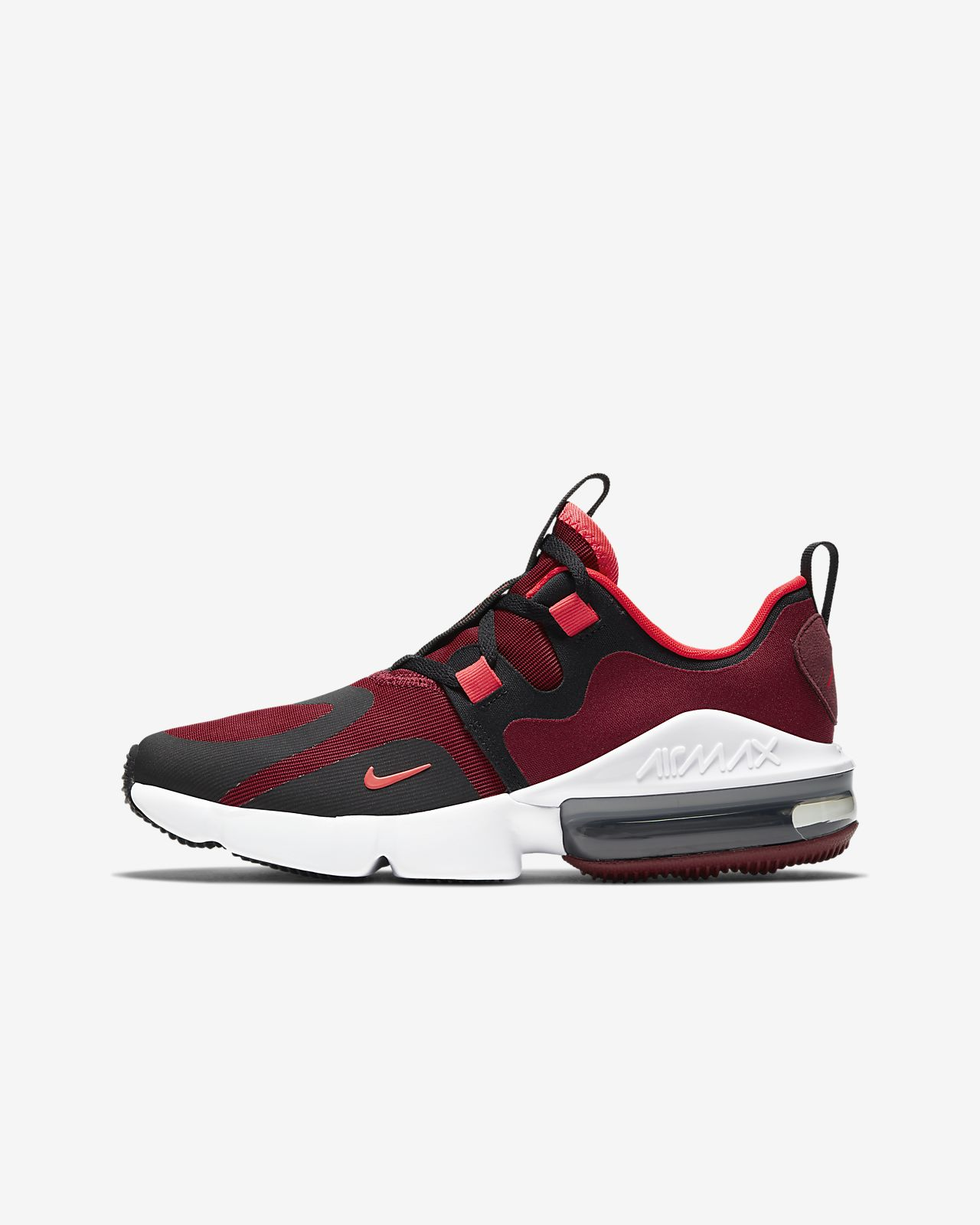 Nike Air Max 90 Mesh SE Older Kids' Shoe With Black White