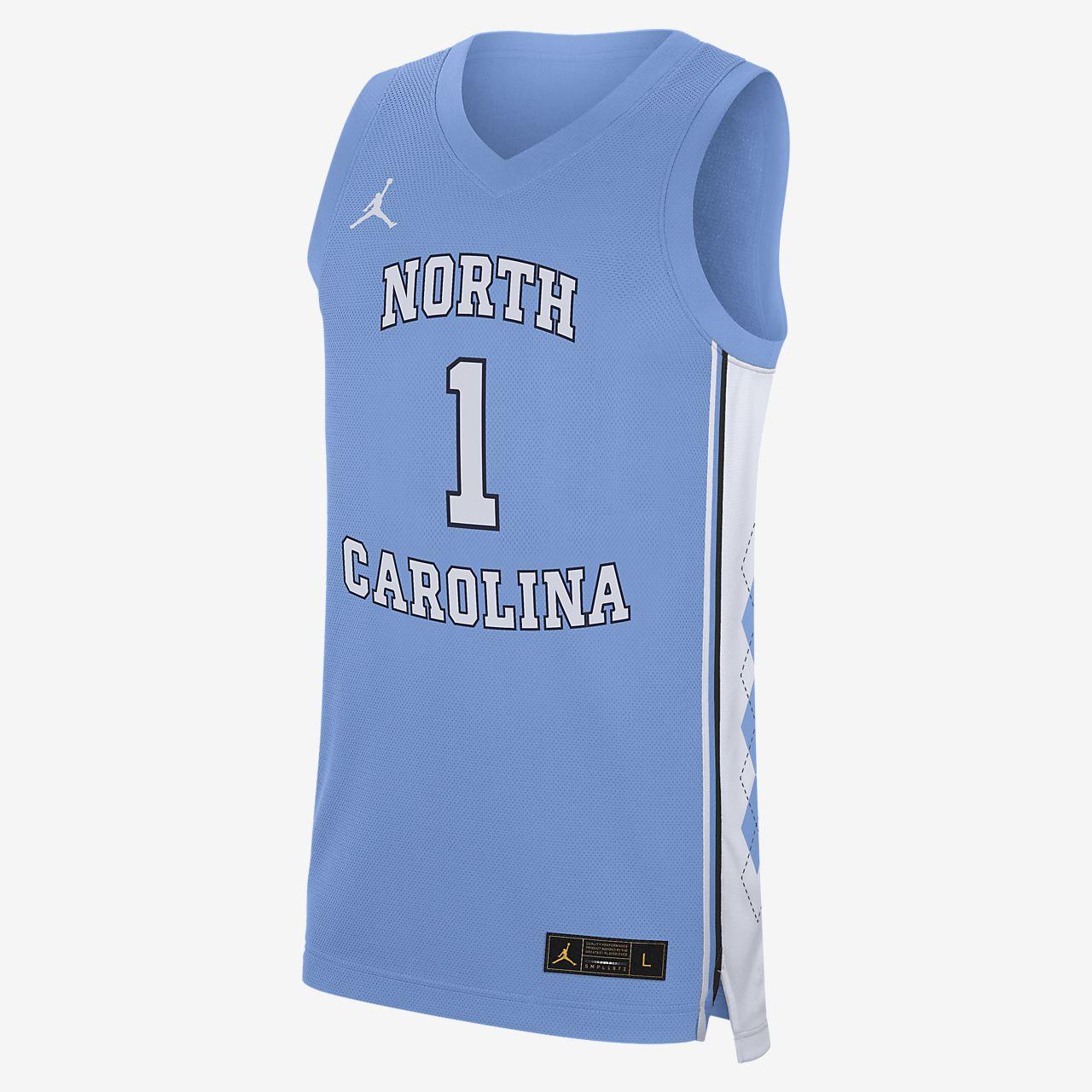 Nike College Replica (UNC) Men's Basketball Jersey