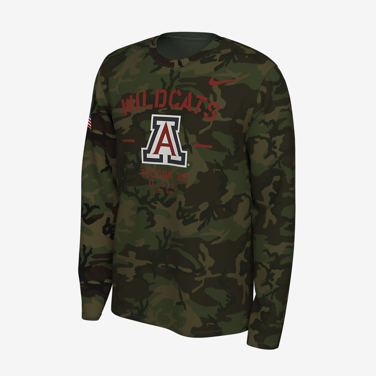 Nike College Legend (Arizona) Men's Long-Sleeve T-Shirt