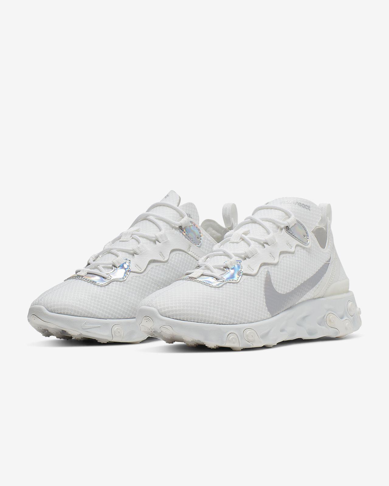Nike React Element 55 Women's Iridescent Shoe