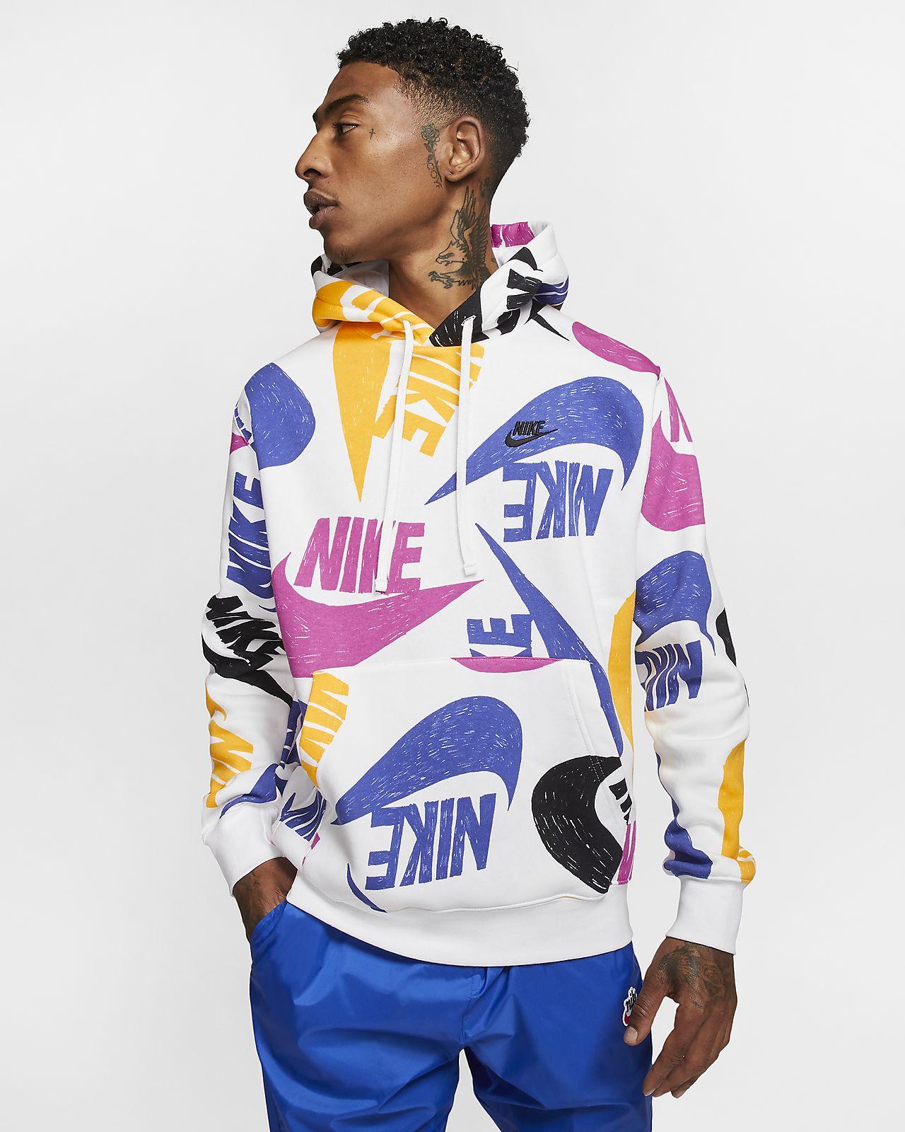 nike sportswear club felpa