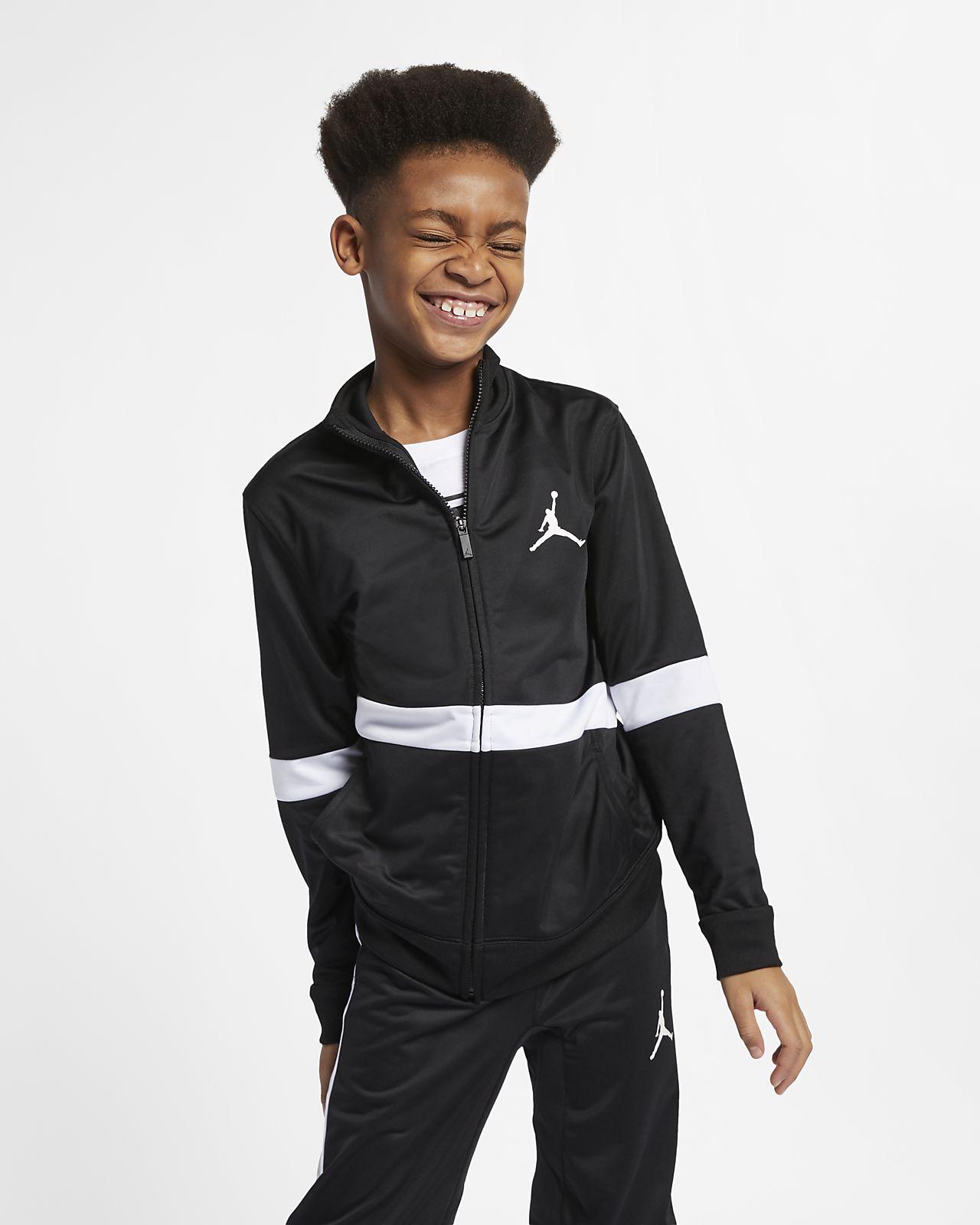 Jordan Sportswear Diamond Jacke mit durchgehendem Reißverschluss für ältere Kinder (Jungen)