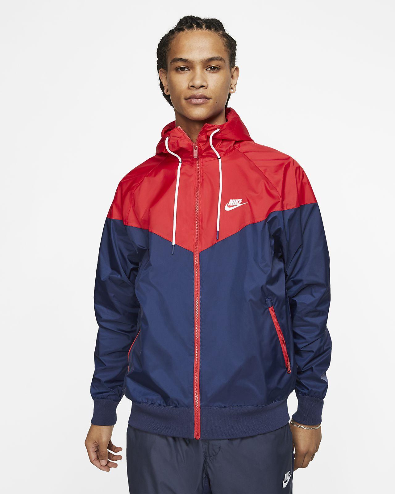 cómo utilizar compromiso lección  Nike Sportswear Windrunner Hooded Windbreaker. Nike LU