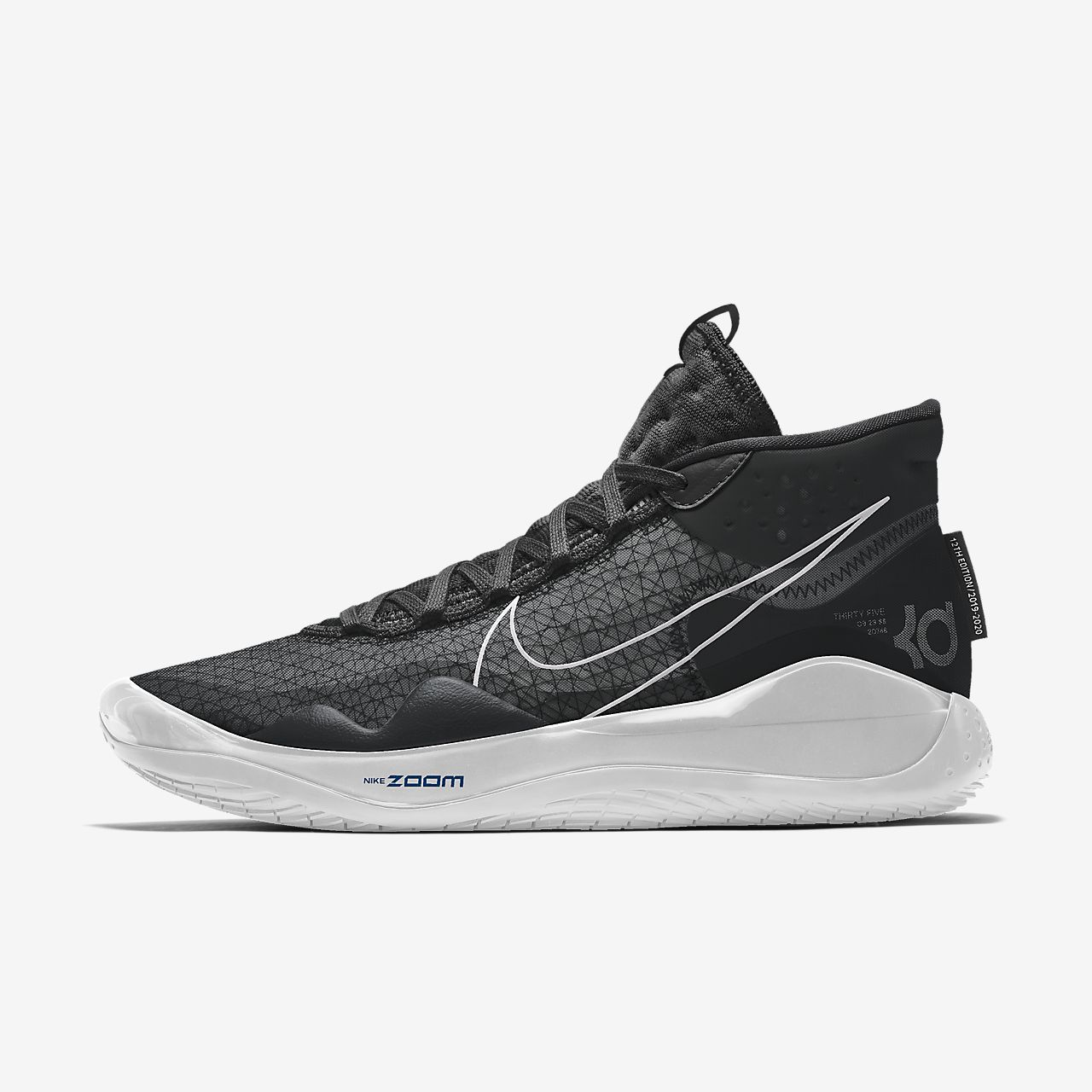 Nike Zoom KD12 By You personalisierbarer Basketballschuh