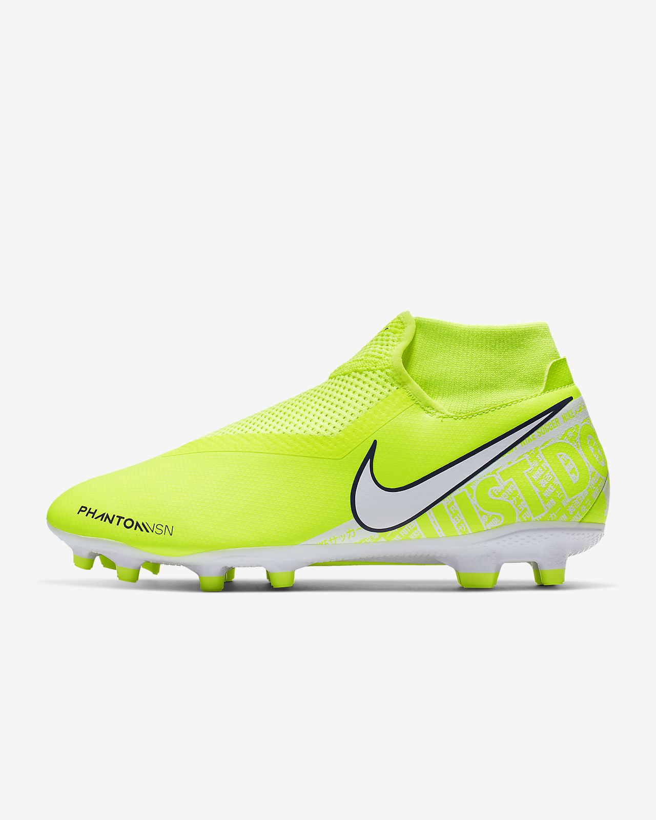 Chaussure de football à crampons multi surfaces Nike Phantom Vision Academy Dynamic Fit MG