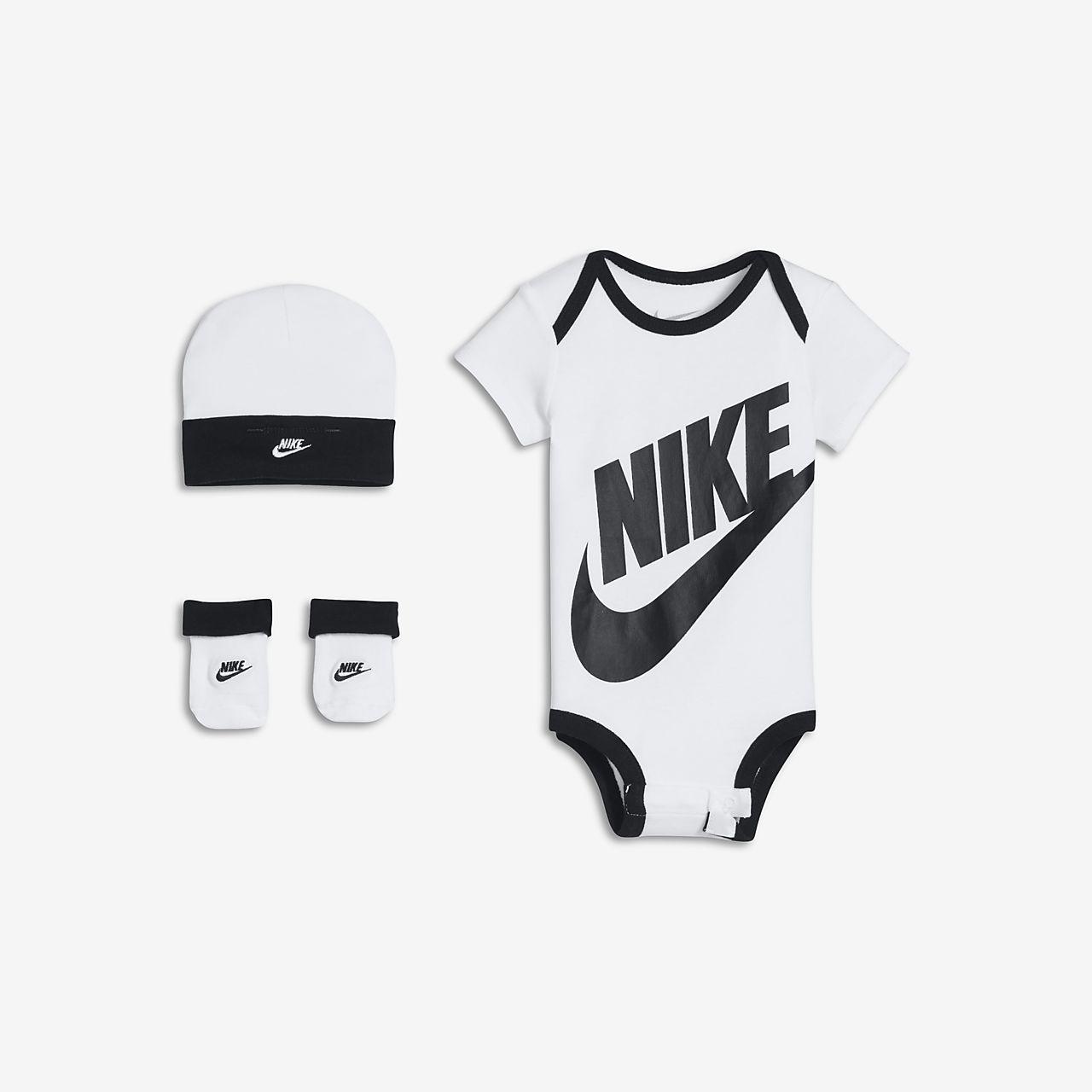 Conjunto de 3 peças Nike para bebé (0-6 meses)