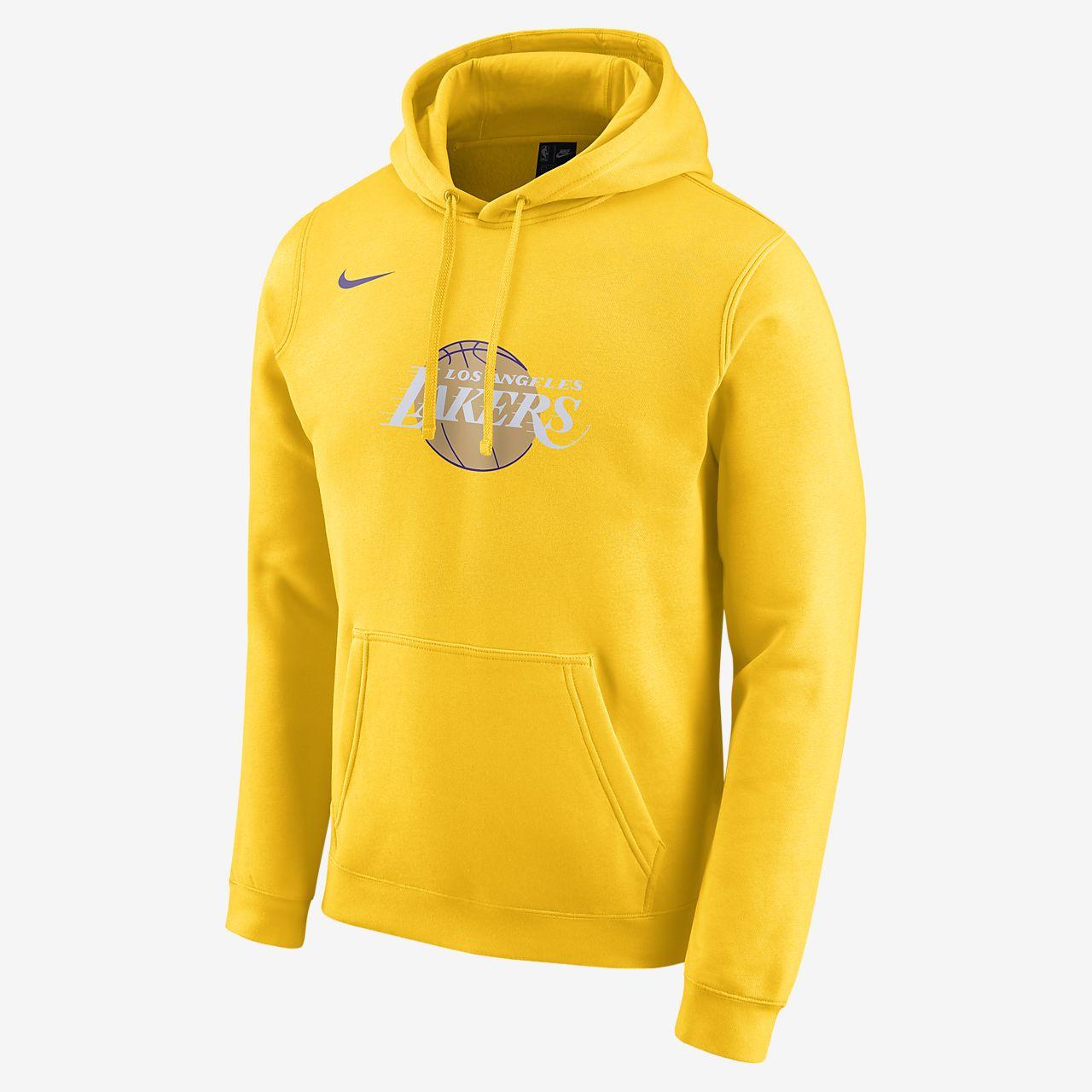 Pánská mikina Nike NBA Lakers City Edition Logo s kapucí