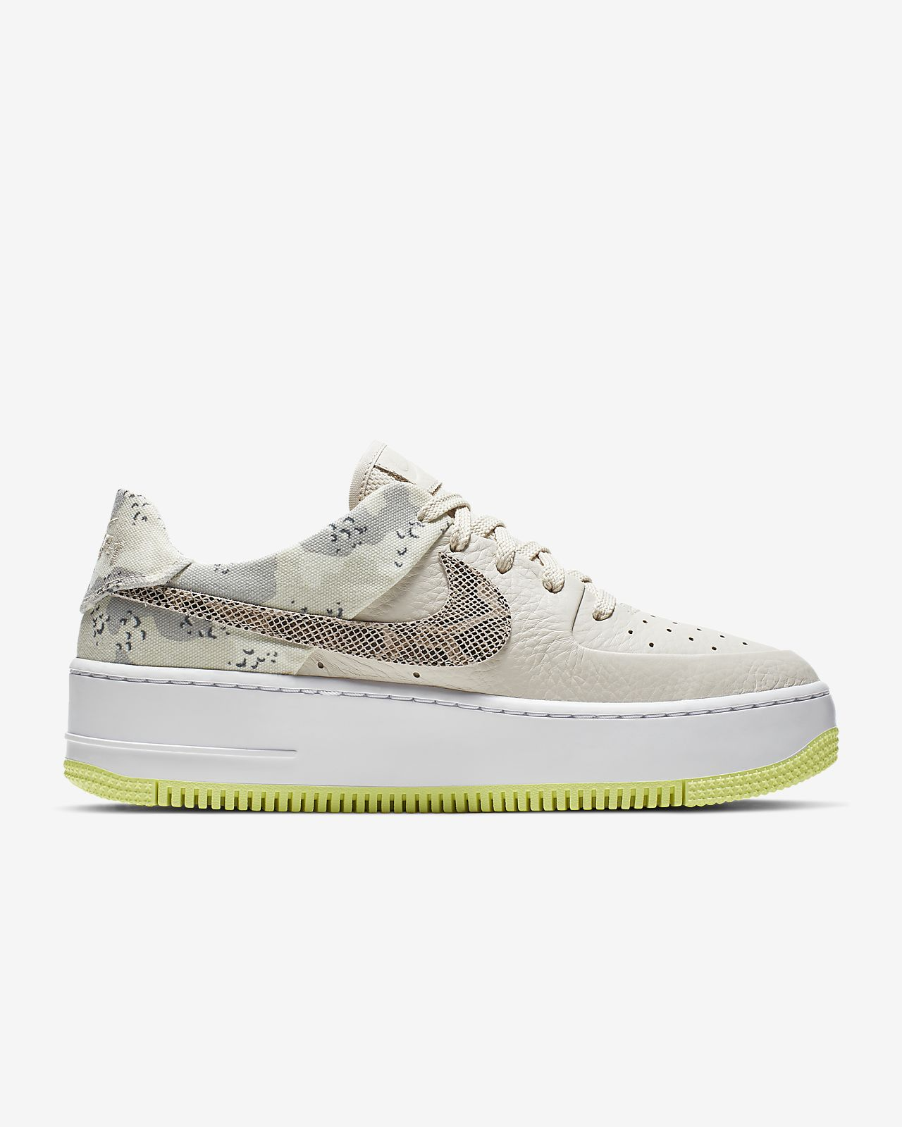 nike air force 1 sage low femme