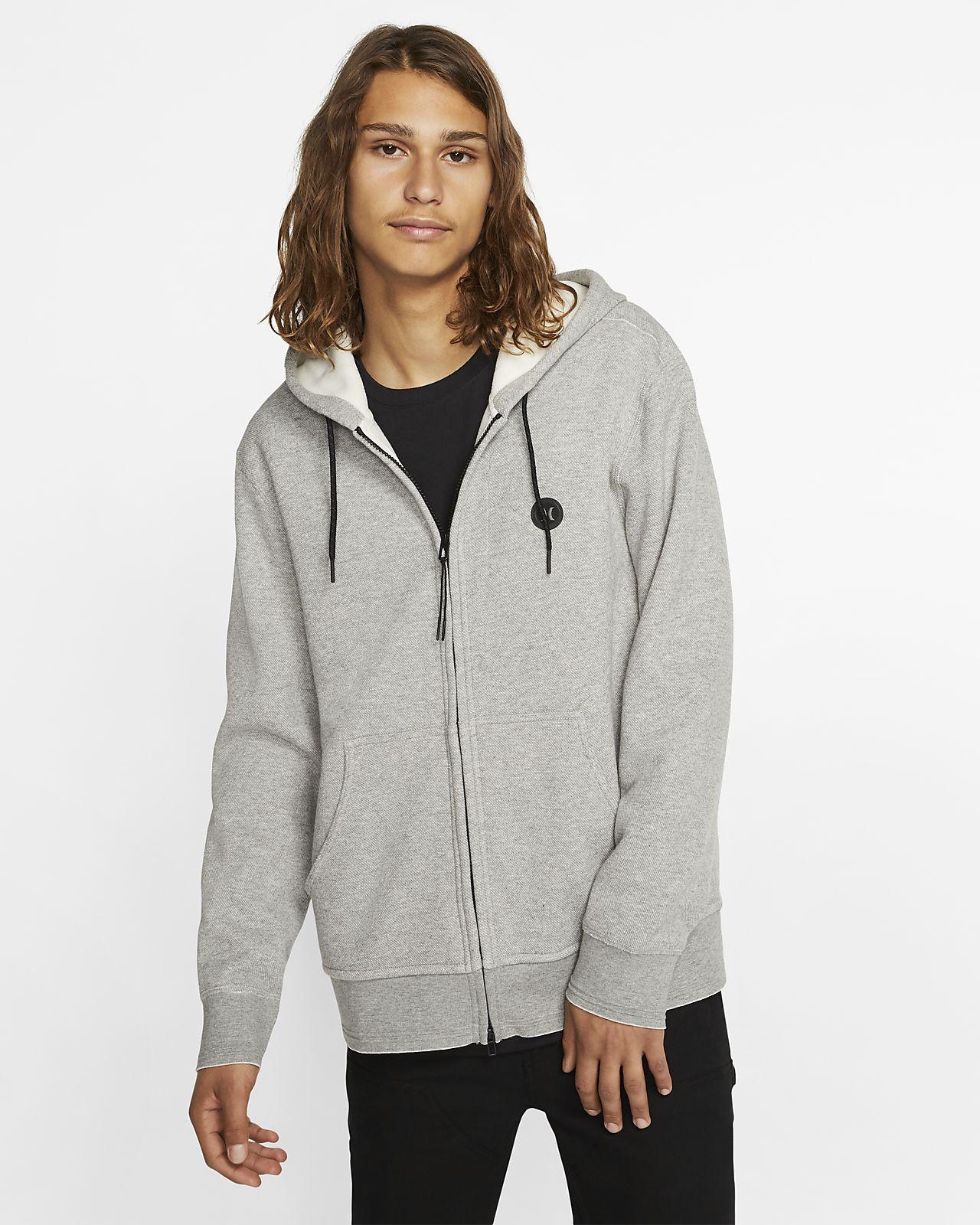 Hurley Endure Therma Men's Full Zip Fleece Hoodie