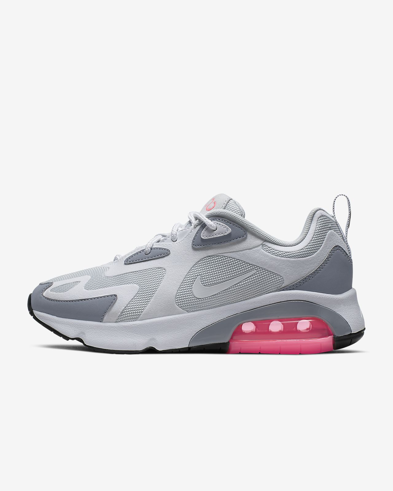 grey and pink nike air max