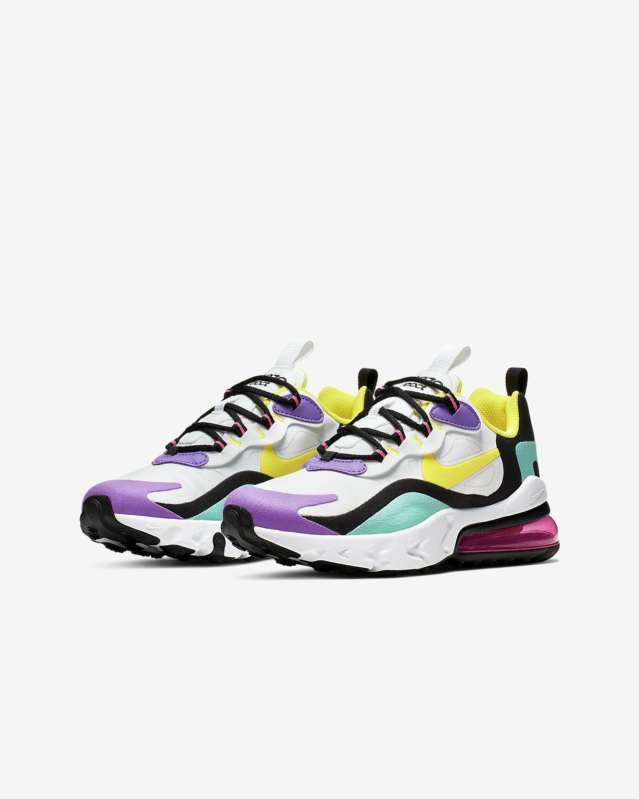 """Nike Air Max 270 React """"Bright Violet"""""""