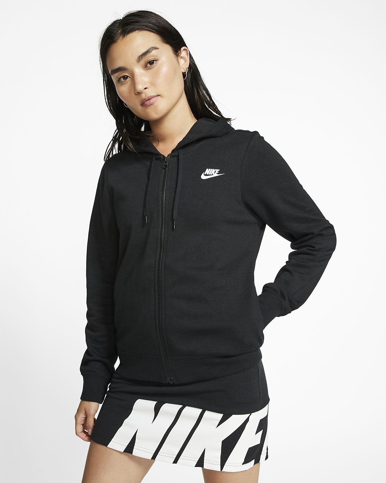 nike 1/4 zip hoodie women's