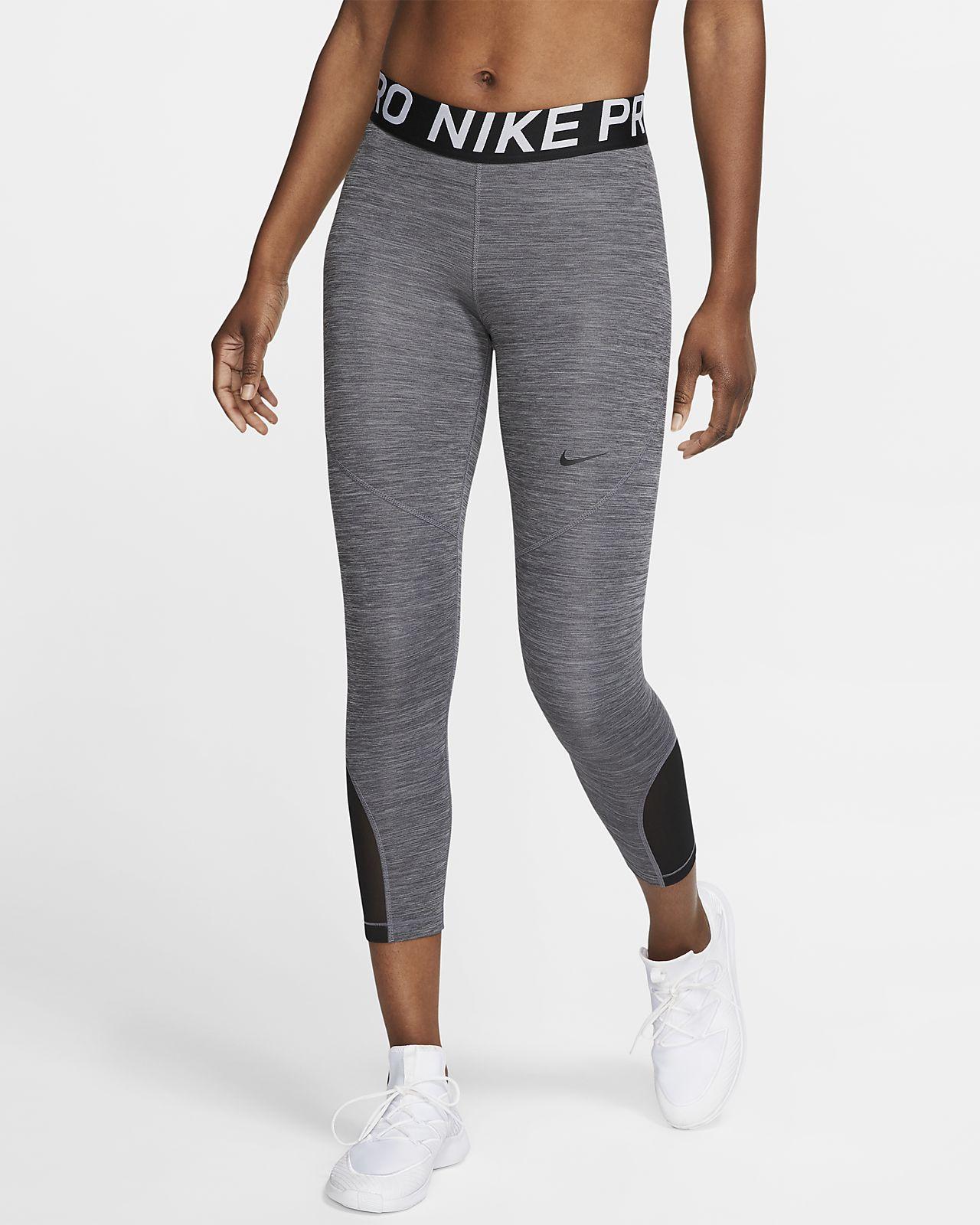 Nike Pro Mallas de tres cuartos - Mujer