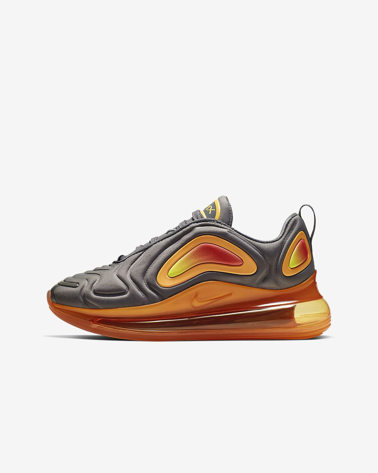 air max 720 blanche et orange