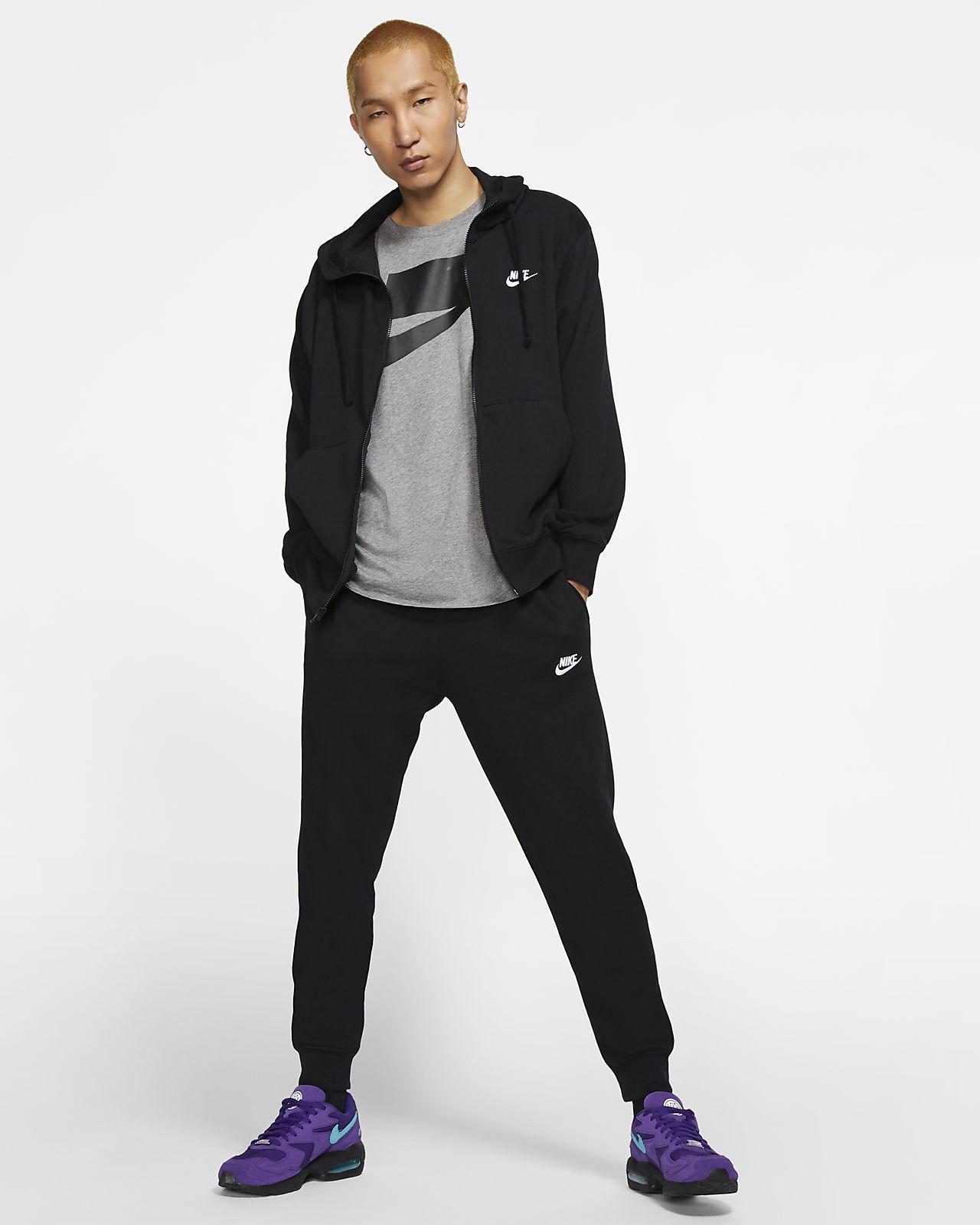 Sweat Nike Sportswear Club Zippé Nike Hommes Vêtements