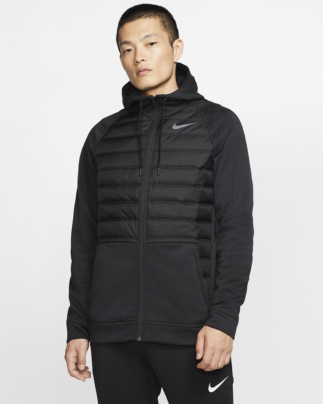 Nike Therma Herren Trainingsjacke mit durchgehendem Reißverschluss