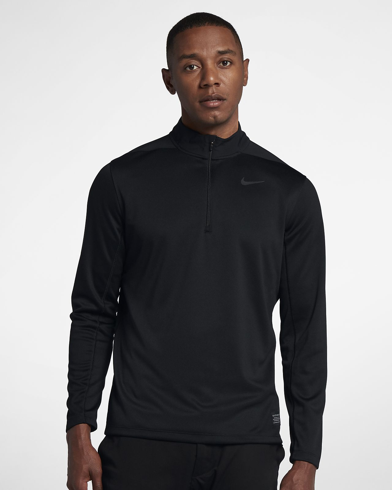 nike 1/2 zip fleece pullover