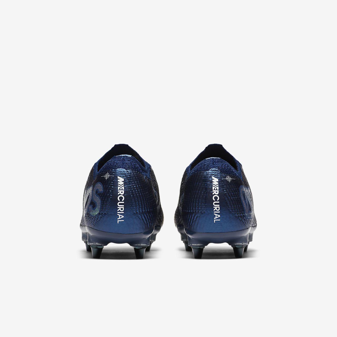 Chaussure de football à crampons pour terrain gras Nike Mercurial Vapor 13 Elite MDS SG PRO Anti Clog Traction