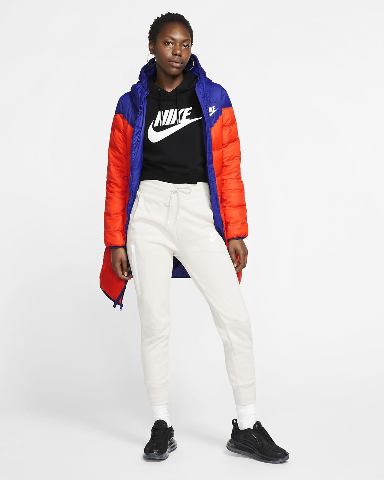 Nike Sportswear Down Fill Parka Long Team OrangeBlack