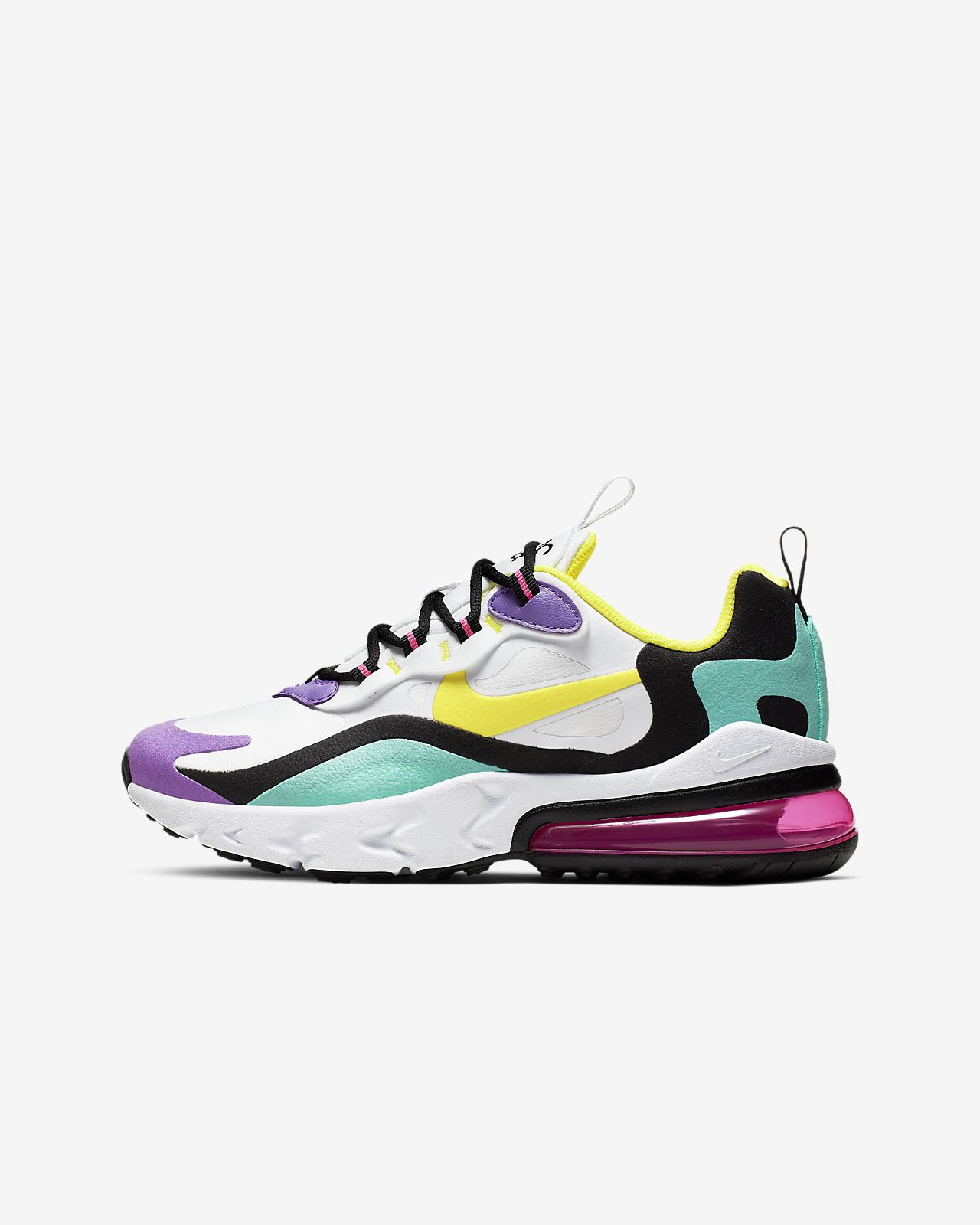 air max 270 enfant jaune
