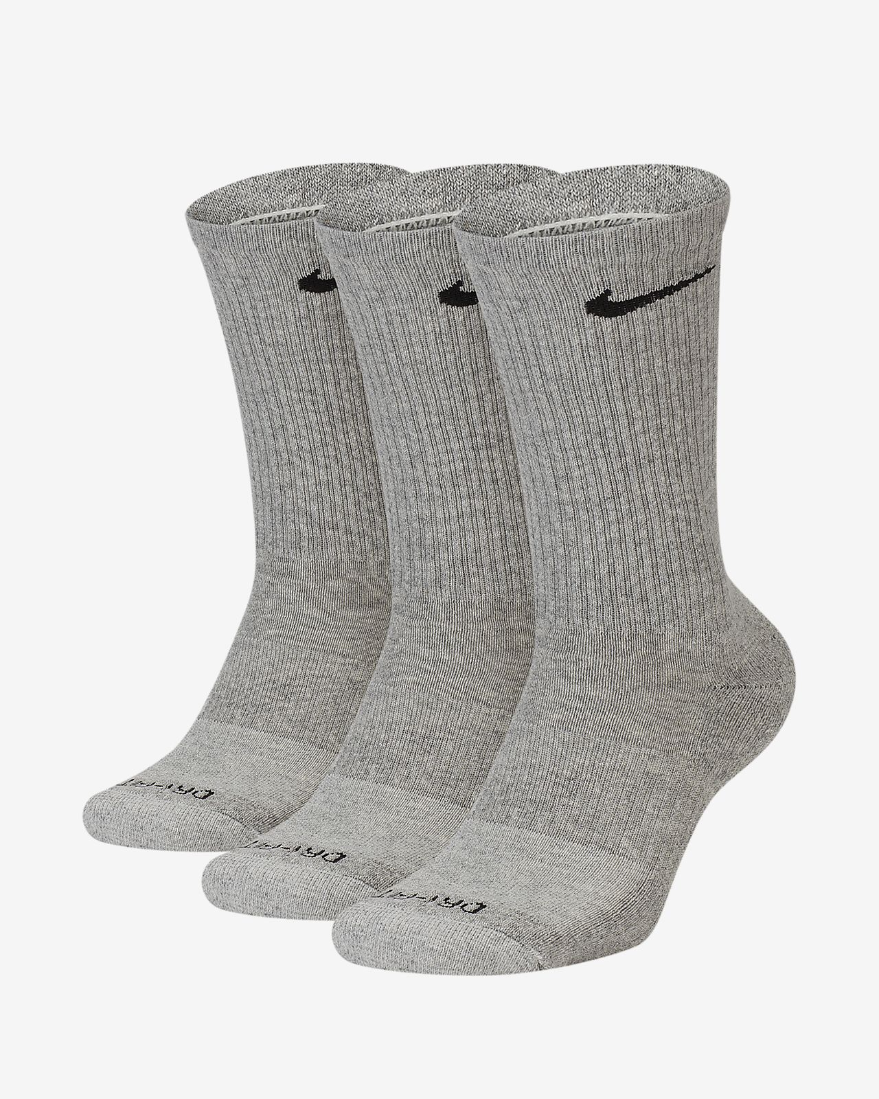 "Kids Gray Crew Sock Size 4-6  12 Pair  /""Free Shipping/"""